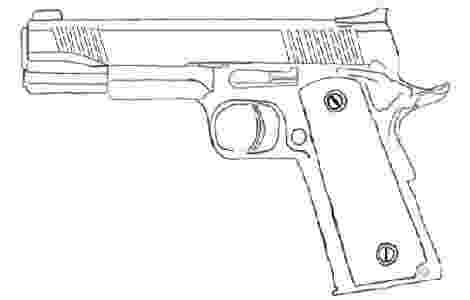 gun coloring pictures gun coloring pages projects to try pinterest guns coloring pictures gun