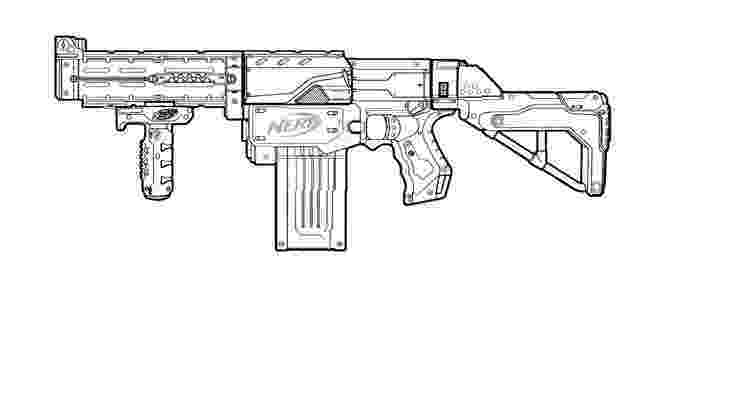 gun coloring pictures nerf retaliator template this means nerf war pinterest pictures gun coloring