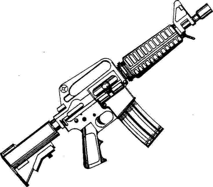gun pictures to color ar 15 coloring page m16 gun colouring pages page 3 to pictures color gun