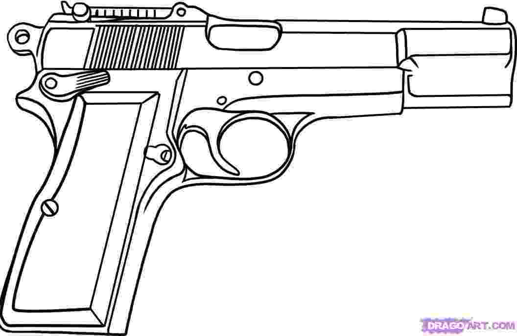 gun pictures to color gun coloring pages download and print for free color pictures gun to