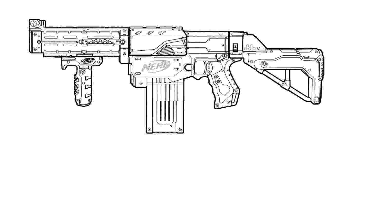 gun pictures to color nerf retaliator paint design by ilovetosmoke on deviantart to color gun pictures