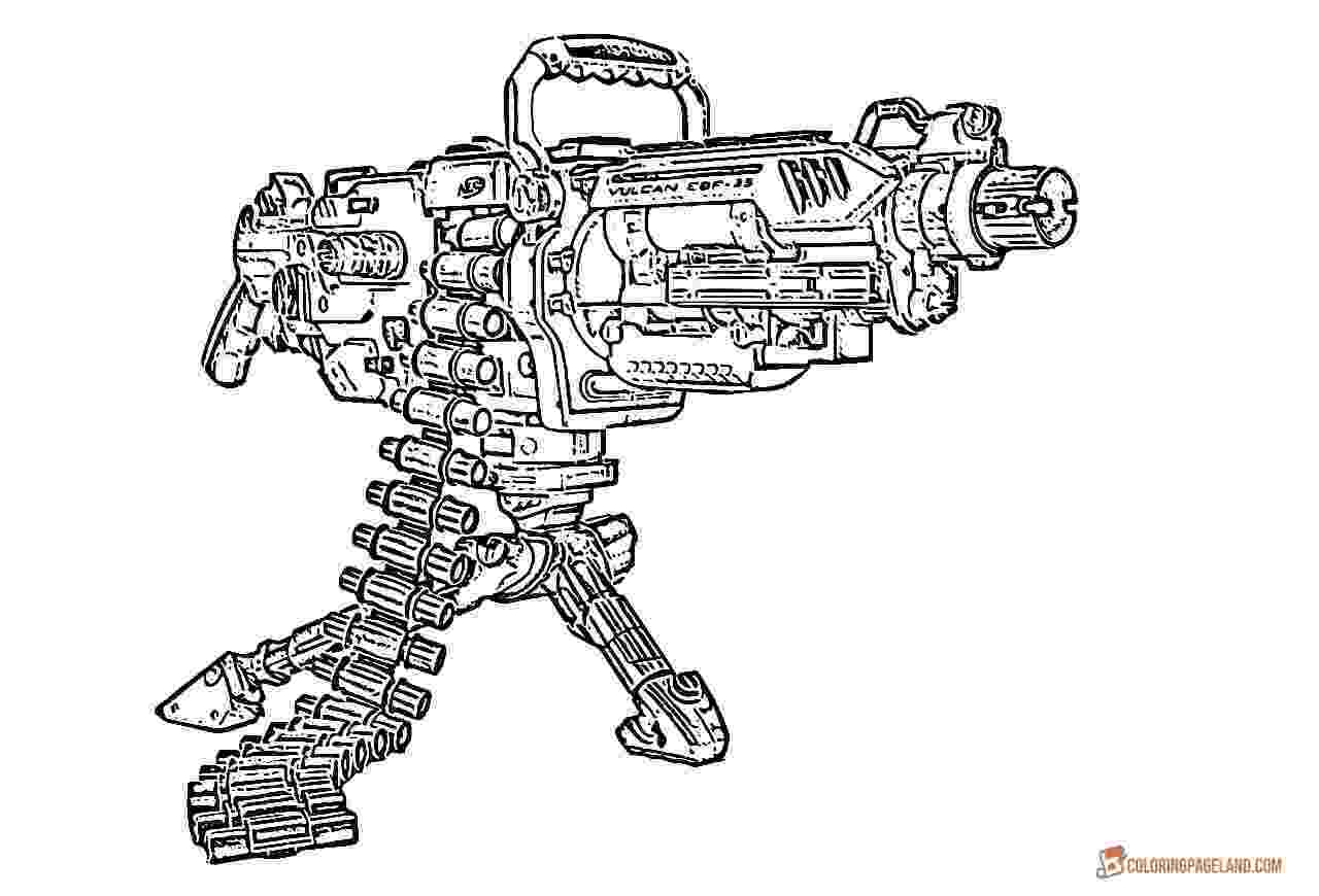 gun pictures to color nerf worksheet printable worksheets and activities for color to pictures gun