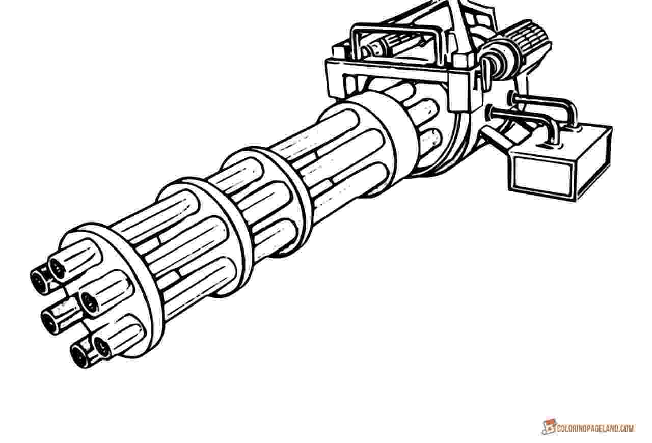 gun pictures to color slingshot rifle plans sketch coloring page gun to color pictures