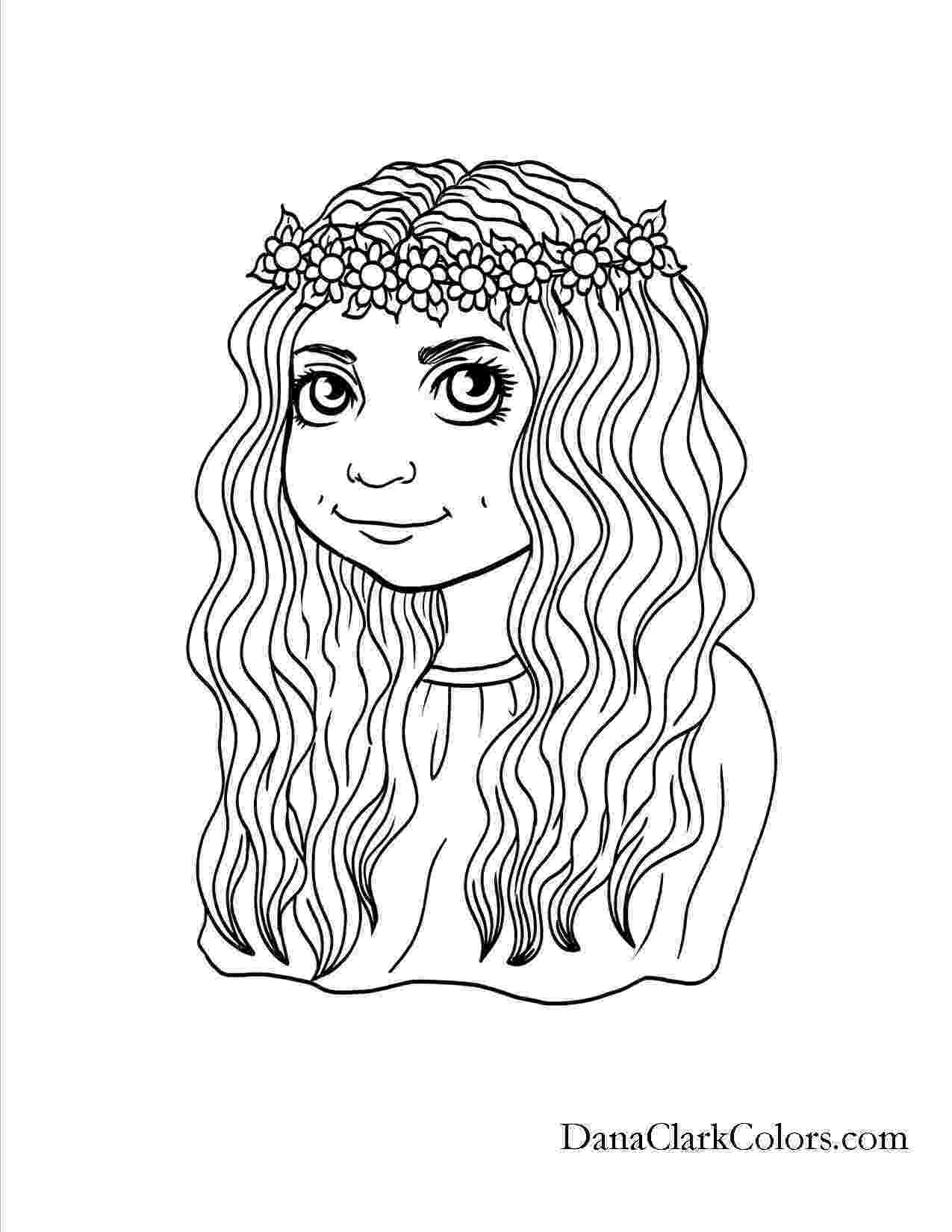 hair dying ideas hairstyle coloring pages new hairstyles coloring pages ideas dying hair