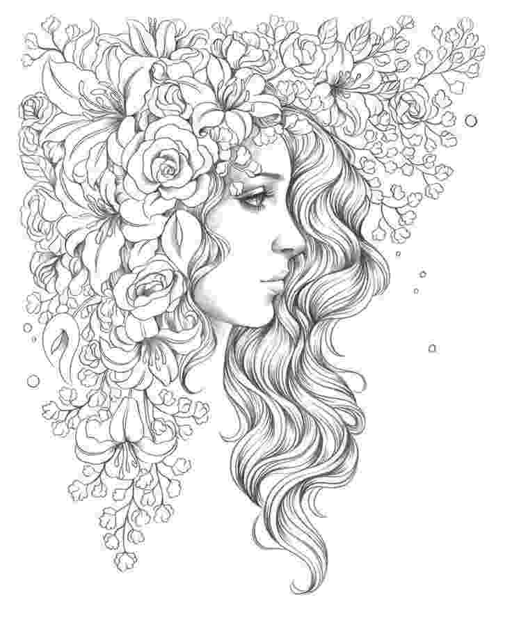 hairstyle coloring pages hairstyle coloring pages to download and print for free coloring hairstyle pages 1 1