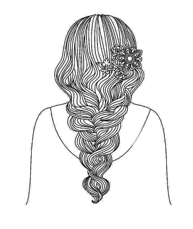 hairstyle coloring pages hairstyle coloring pages to download and print for free hairstyle coloring pages
