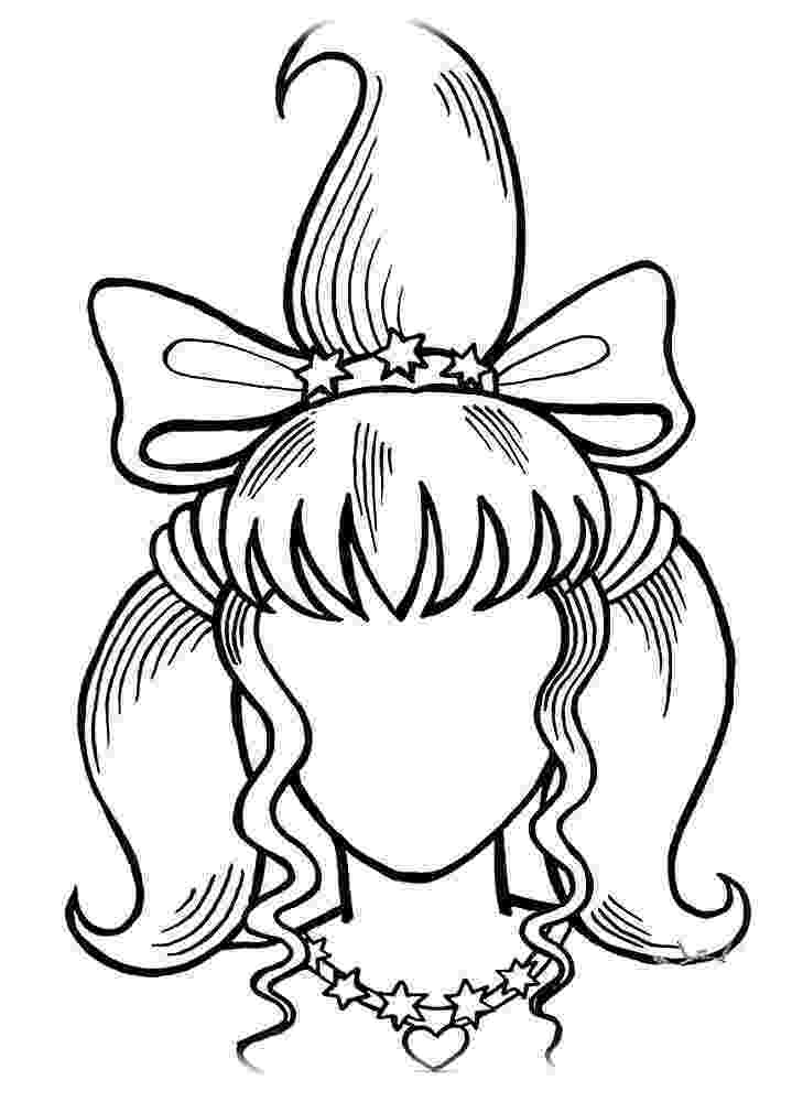 hairstyle coloring pages hairstyle coloring pages to download and print for free pages hairstyle coloring