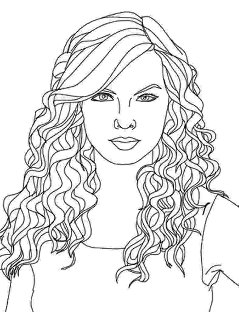 hairstyle coloring pages pompadour hairstyle coloring page free printable pages coloring hairstyle