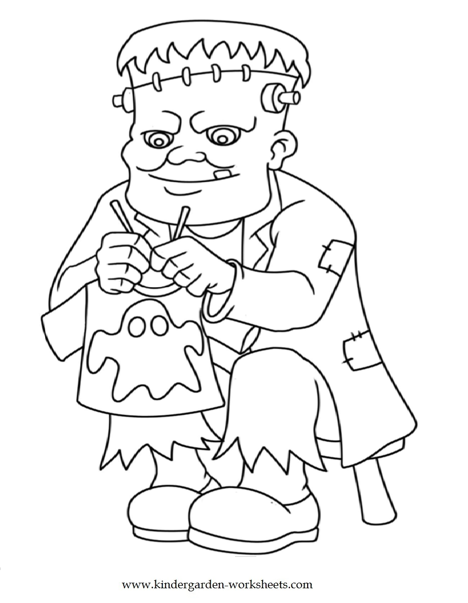 halloween coloring sheets for kindergarten halloween color by number freebie coloring pages halloween for sheets kindergarten coloring
