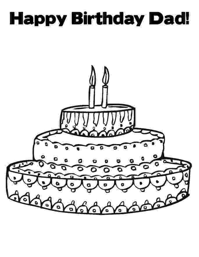 happy birthday colouring pages for dad happy birthday daddy coloring pages pages for happy birthday colouring dad