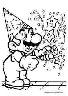 happy birthday mario birthday coloring pages english for kids birthday birthday happy mario