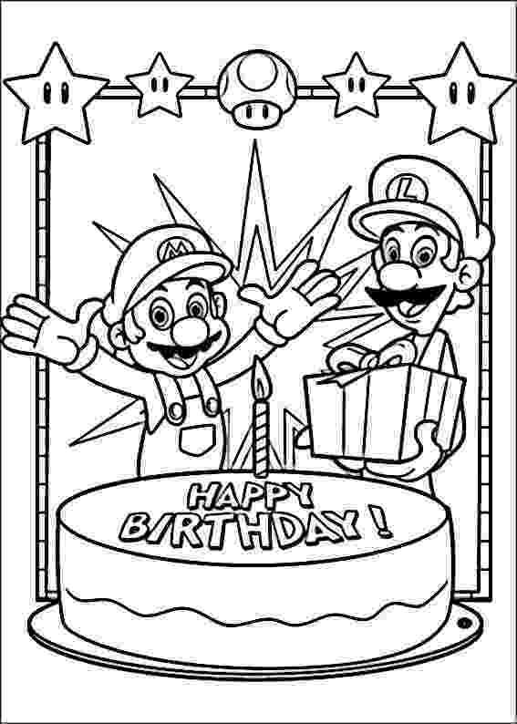 happy birthday mario happy birthday coloring pages bestofcoloringcom happy mario birthday