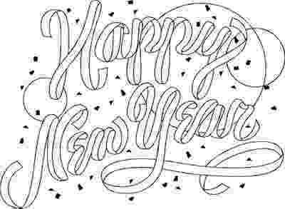 happy new year coloring pages coloring pages happy new year 2010 coloring pages year new pages happy coloring