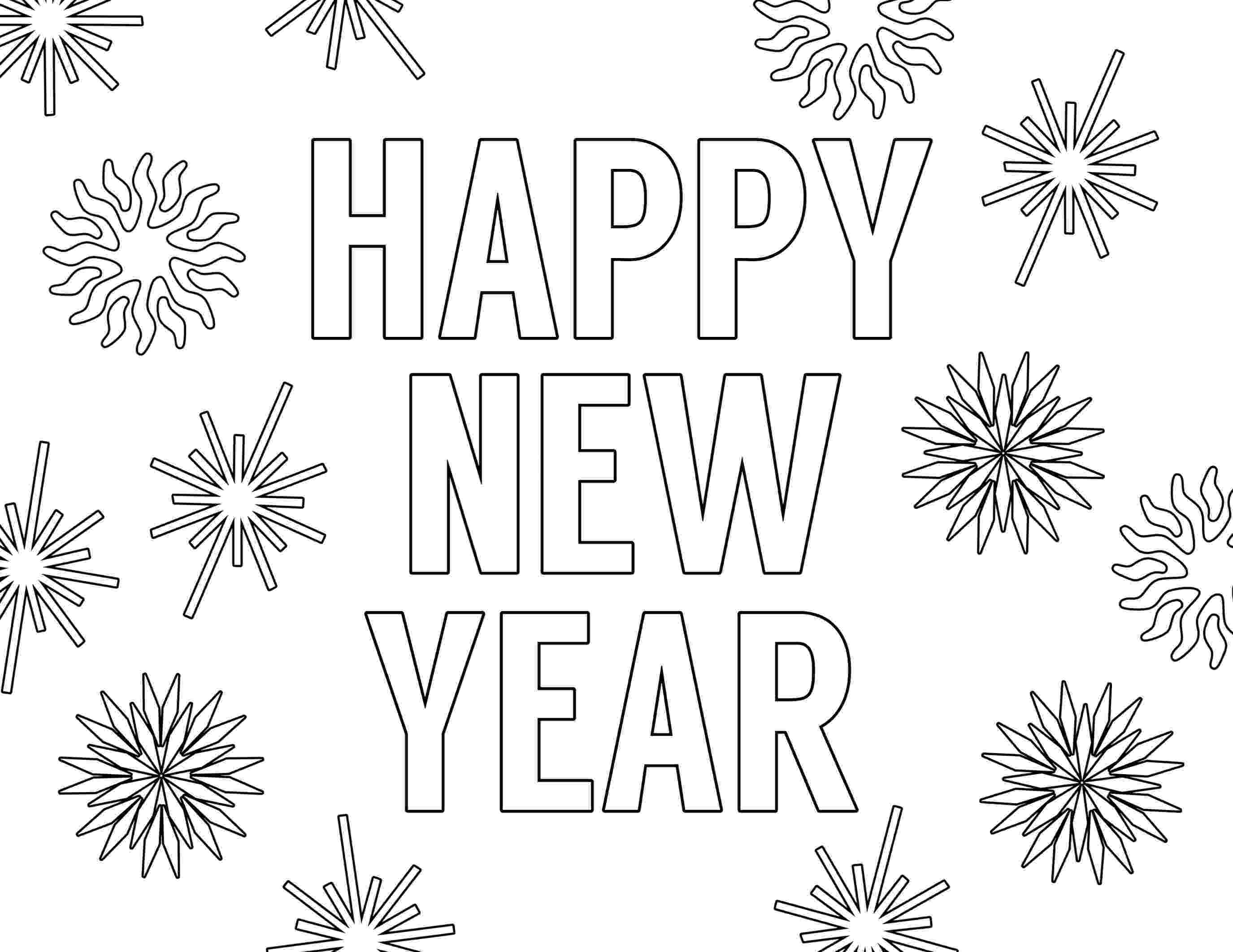 happy new year coloring pages education helper happy new year free coloring sheets coloring pages new happy year