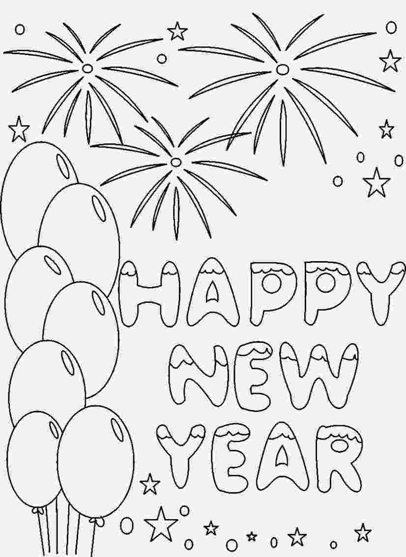 happy new year coloring pages happy new year 2017 coloring pages to download and print new pages coloring year happy