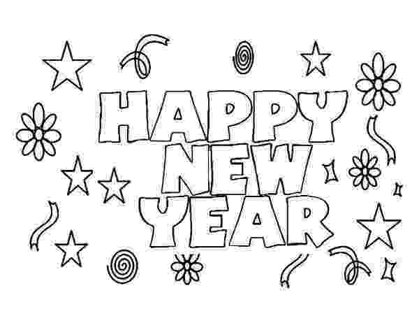 happy new year coloring pages happy new year to everyone coloring page download year happy pages new coloring