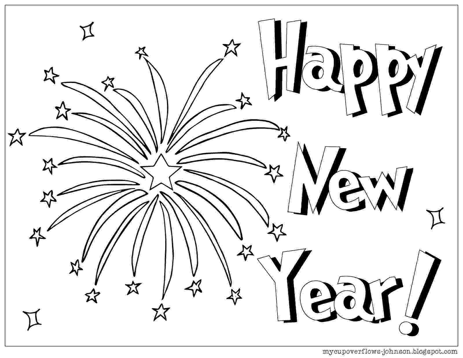 happy new year coloring pages my cup overflows happy new year 2018 year pages new happy coloring
