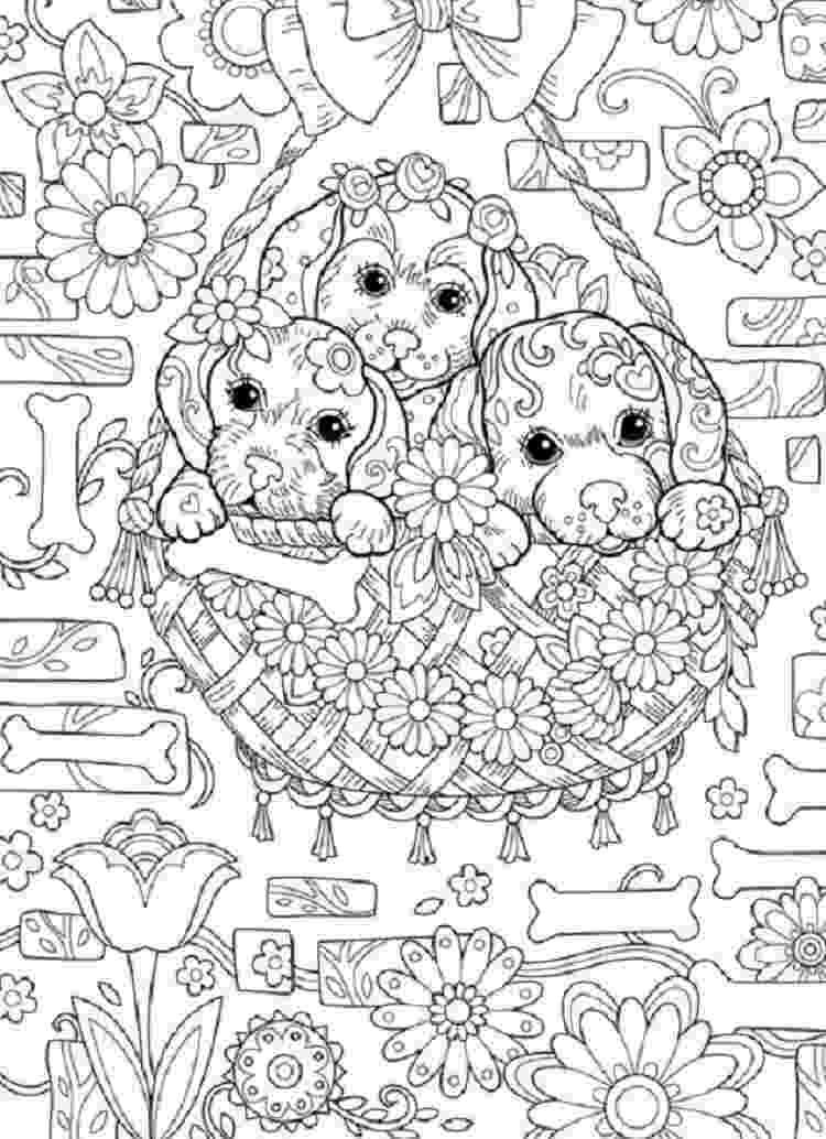 hard coloring page puppy coloring pages hard puppy coloring pages dog coloring hard page