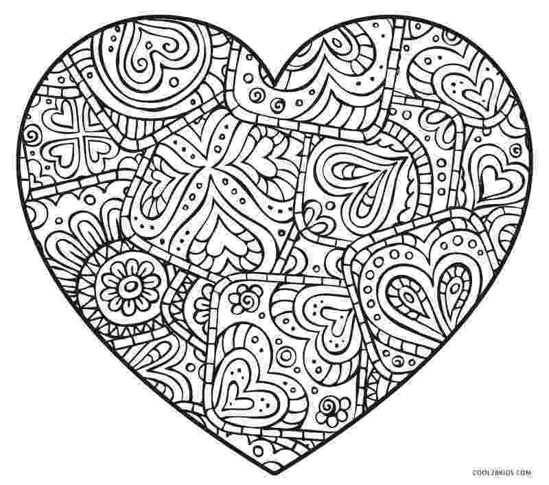 heart coloring pages free printable heart coloring pages for kids heart pages coloring