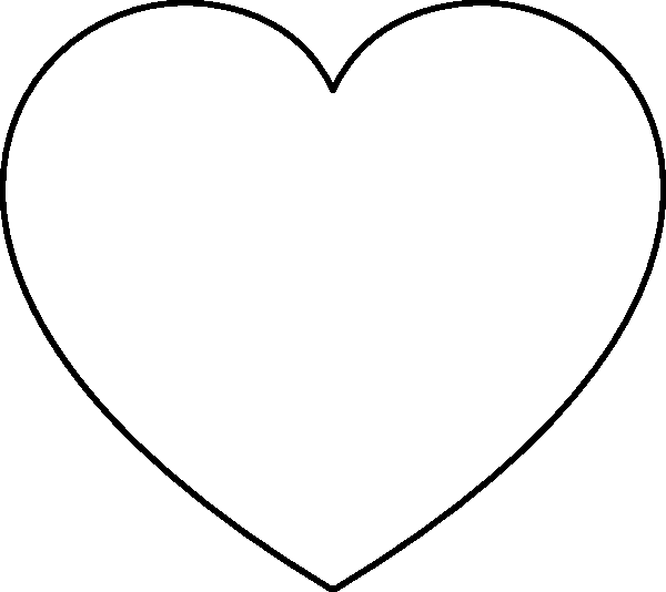 heart shape coloring pages heart coloring pages free download on clipartmag shape coloring pages heart