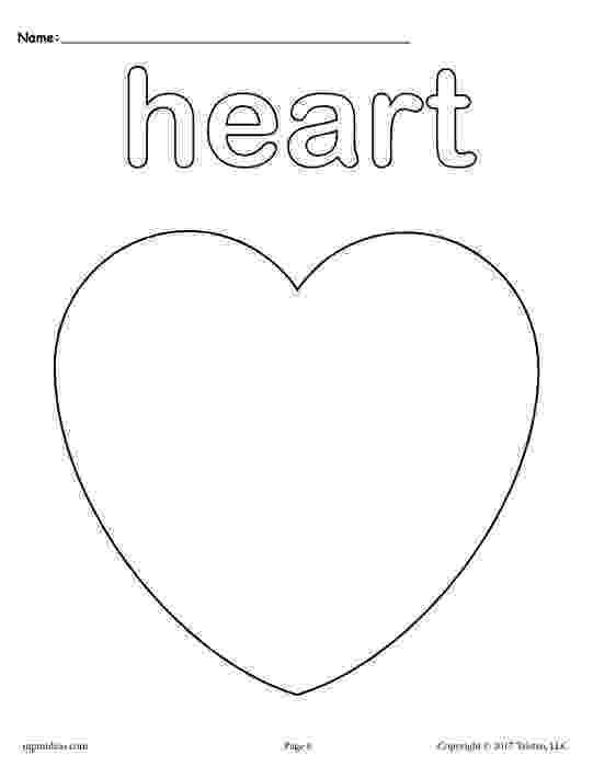 heart shape coloring pages heart shape coloring page getcoloringpagescom heart shape coloring pages