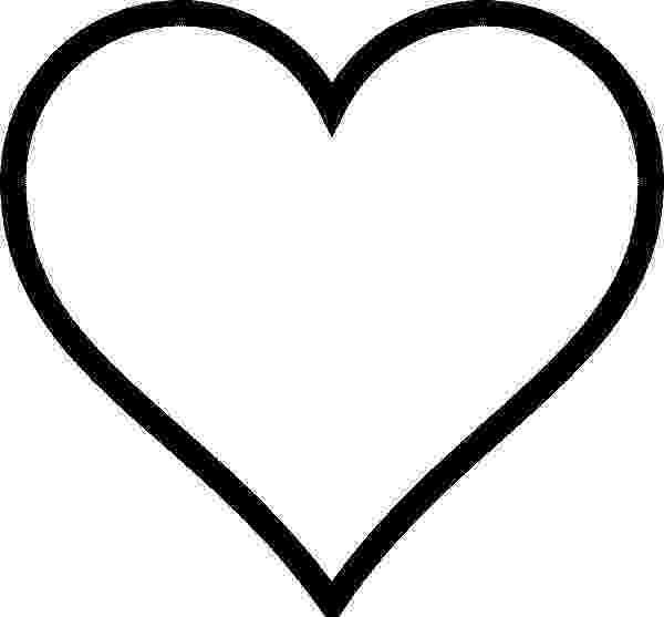heart shape coloring pages heart shape coloring page getcoloringpagescom pages coloring heart shape