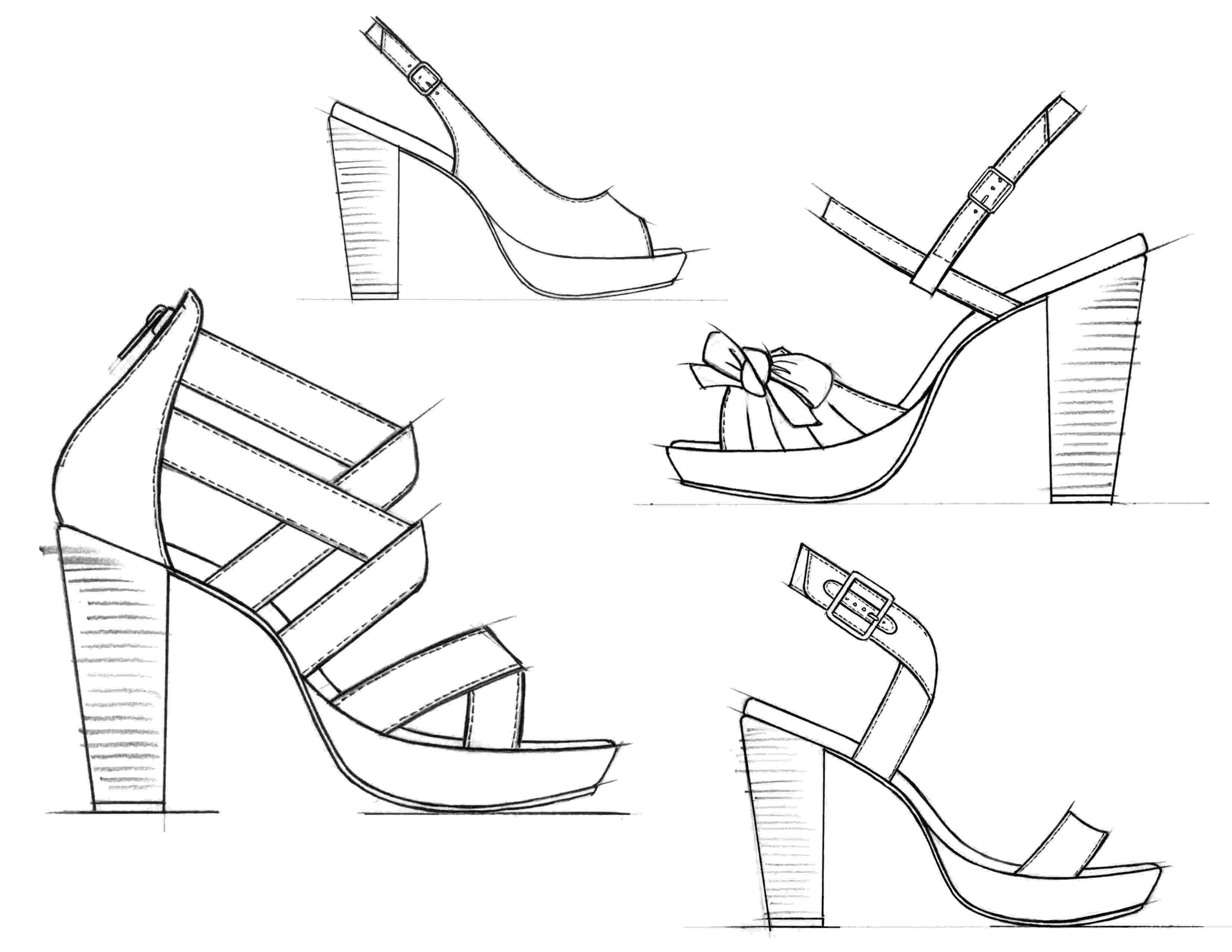 heels sketch footwear sketches by jason clifton at coroflotcom heels sketch