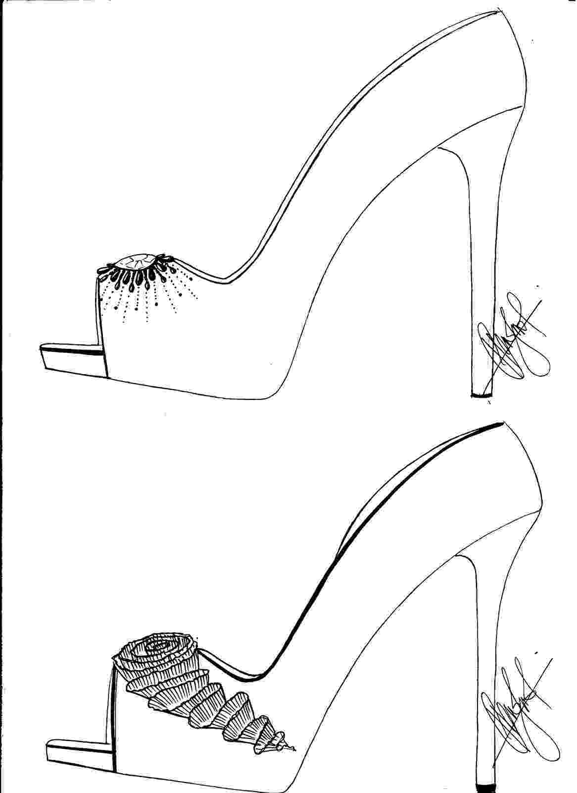 heels sketch hafiz39s fashion sketching high heel sketches heels sketch 1 1