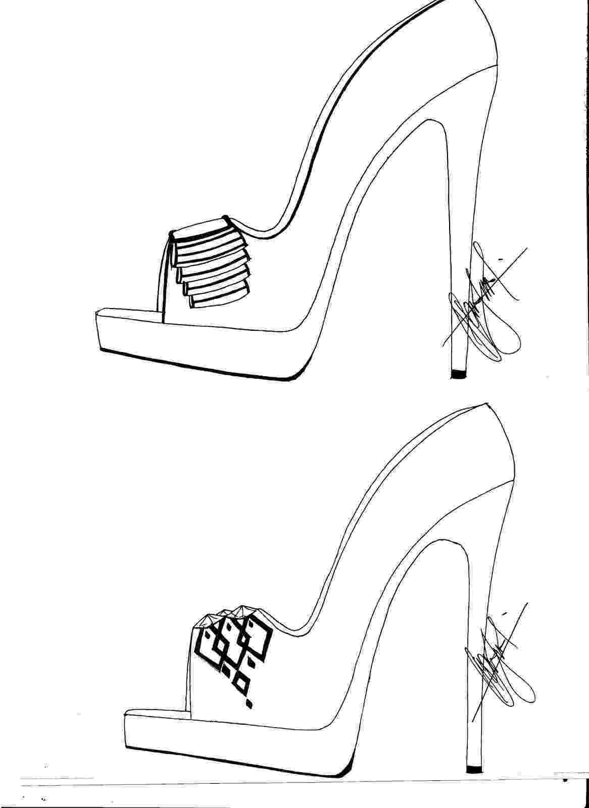 heels sketch hafiz39s fashion sketching high heel sketches heels sketch 1 5