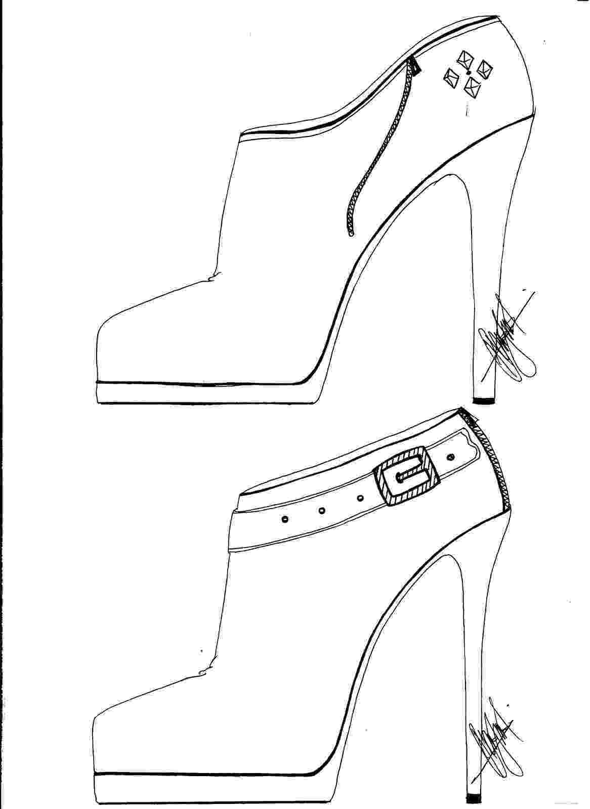 heels sketch hafiz39s fashion sketching high heel sketches heels sketch 1 6