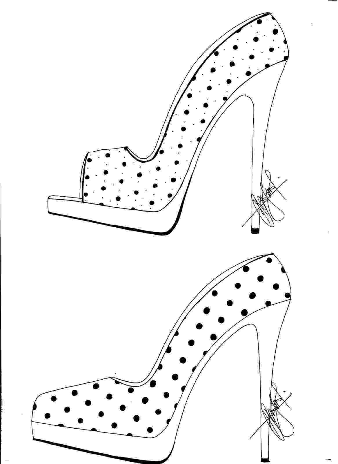 heels sketch hafiz39s fashion sketching high heel sketches sketch heels