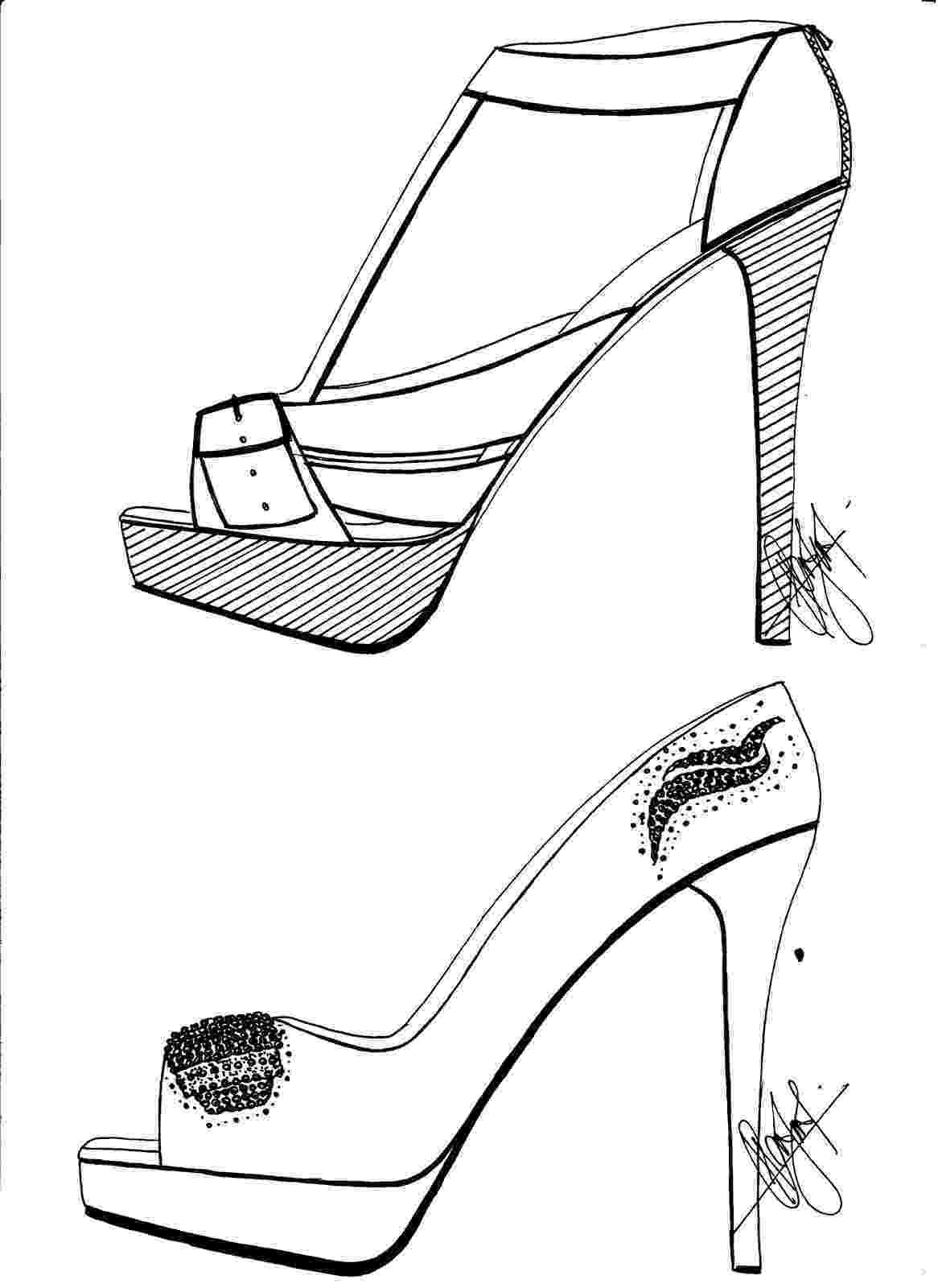 heels sketch hafiz39s fashion sketching high heels sketches heels sketch 1 1