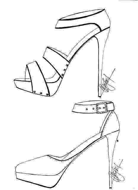 heels sketch hafiz39s fashion sketching high heels sketches heels sketch 1 2