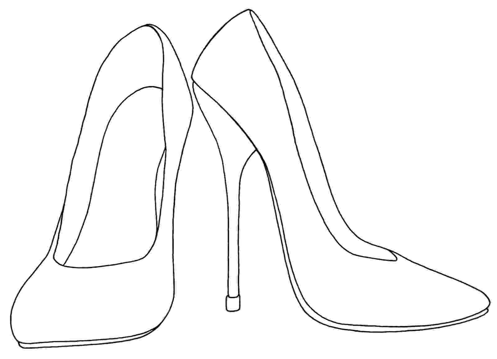 heels sketch yucca flats nm wenchkin39s coloring pages day of the sketch heels