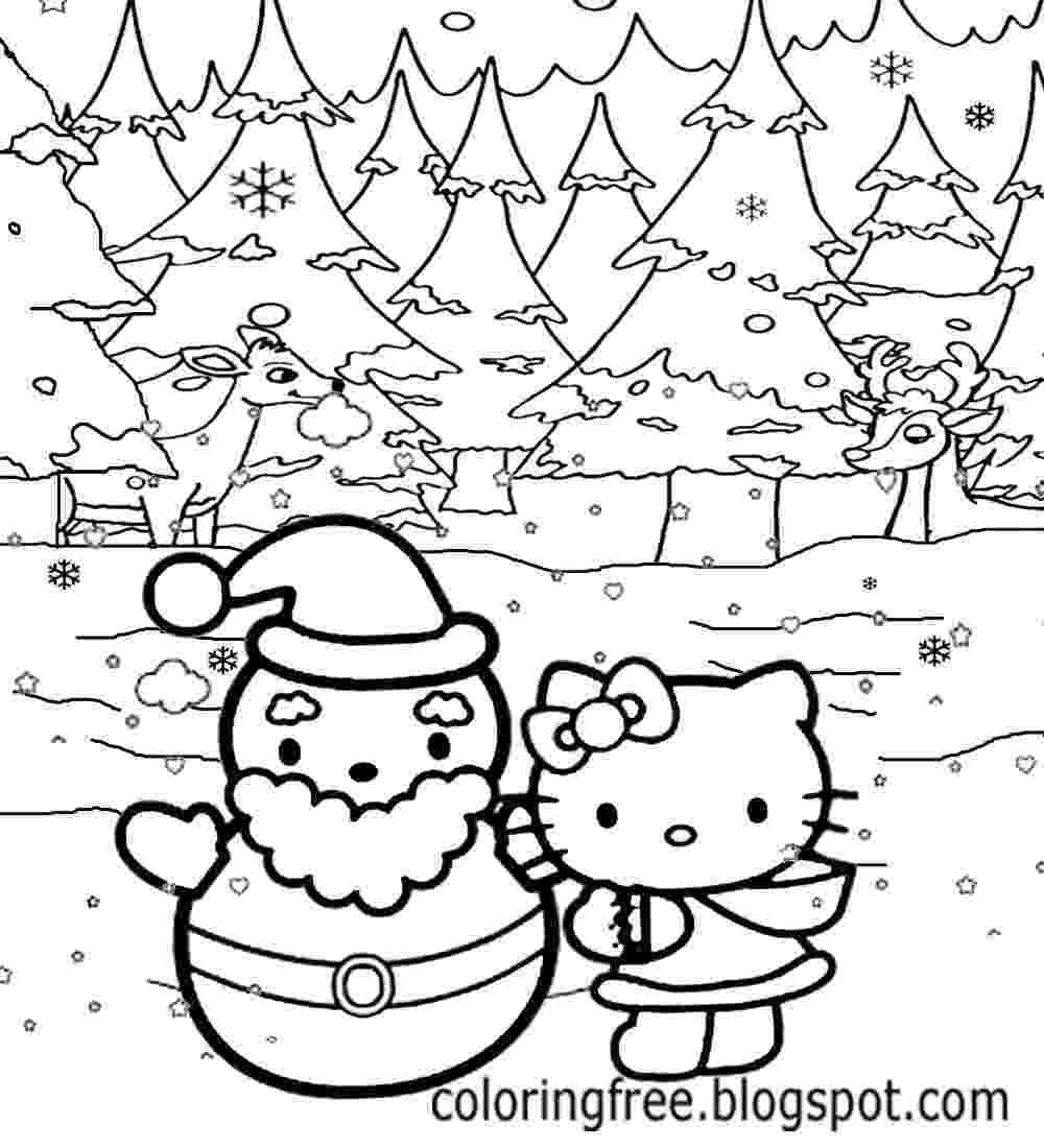 hello kitty fall coloring pages free coloring pages printable pictures to color kids coloring kitty pages fall hello