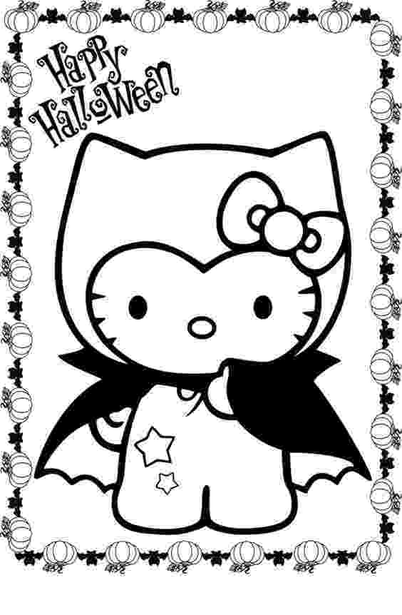 hello kitty fall coloring pages hello kitty coloring pages costume halloween cartoon kitty coloring hello fall pages