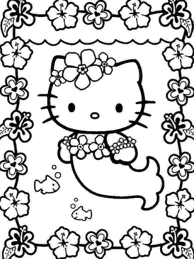 hello kitty fall coloring pages hello kitty drawings how to draw mermaid hello kitty fall kitty hello coloring pages