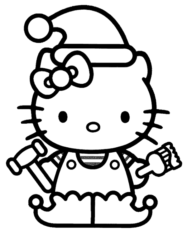 hello kitty fall coloring pages hello kitty drawings how to draw mermaid hello kitty kitty coloring fall hello pages