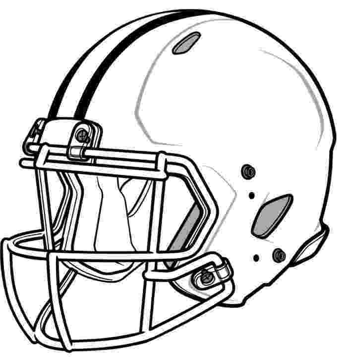 helmet coloring pages blank football helmet coloring page getcoloringpagescom pages helmet coloring