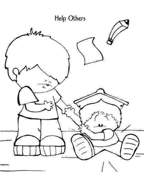 helping coloring page helping others coloring pages coloring home helping page coloring