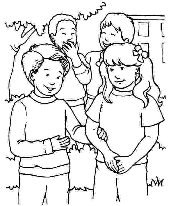 helping coloring page kids helping each other coloring page coloring home page coloring helping