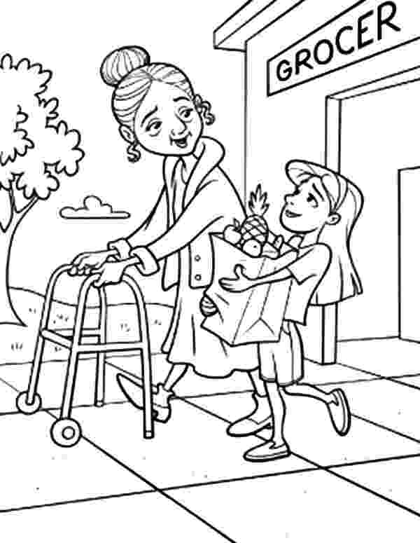helping coloring pages helping people drawing at getdrawingscom free for pages helping coloring