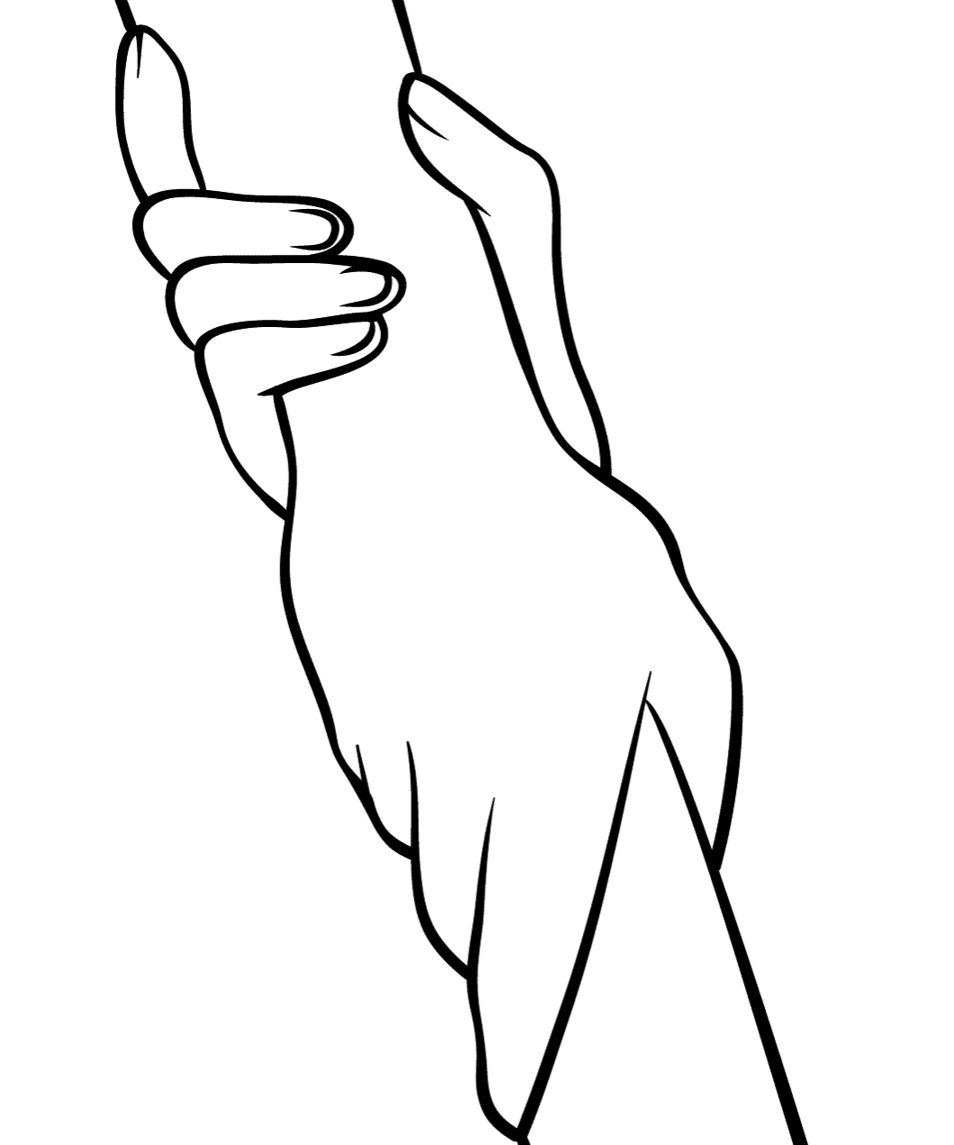 helping hands coloring page look feel and help friend coloring page hands helping