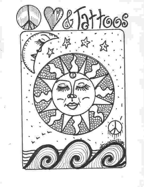 hippie coloring sheets barefooted hippie you color it collection coloring sheets hippie