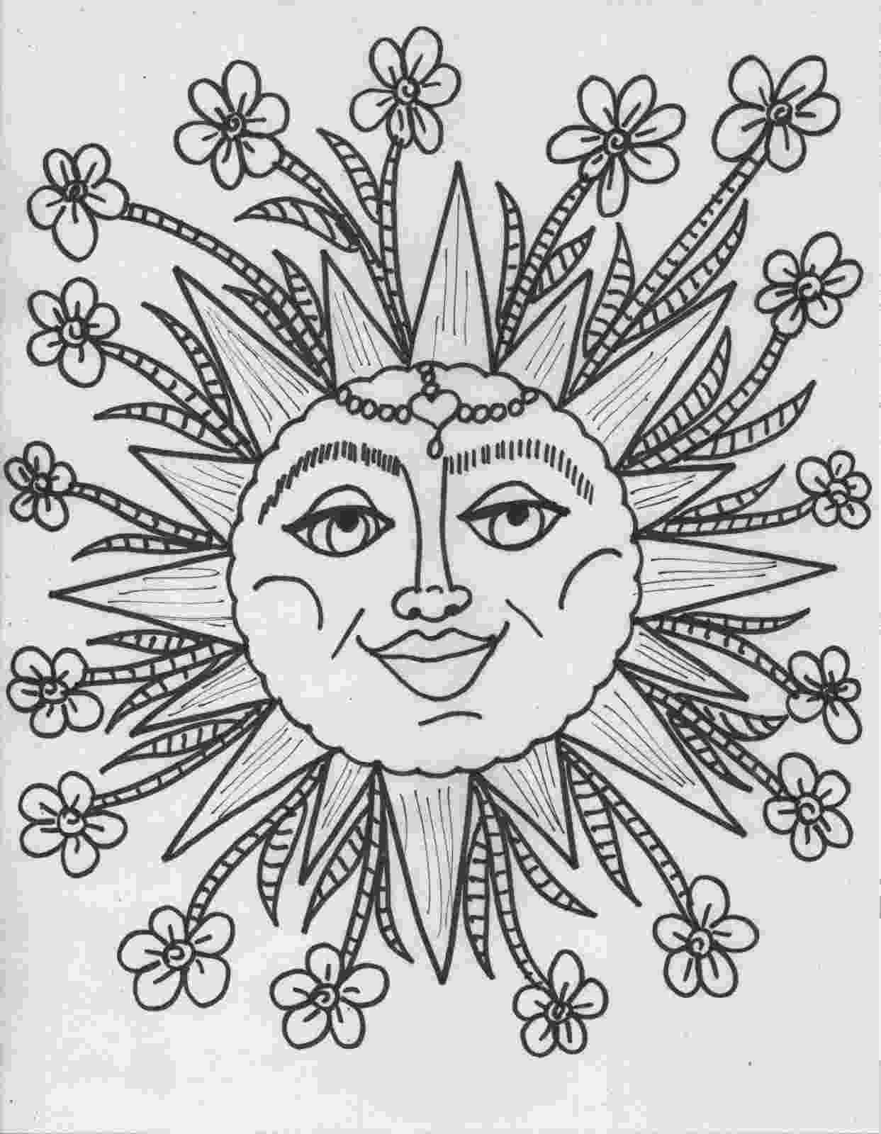hippie coloring sheets free coloring pages for adults 8 funky pictures from sheets coloring hippie