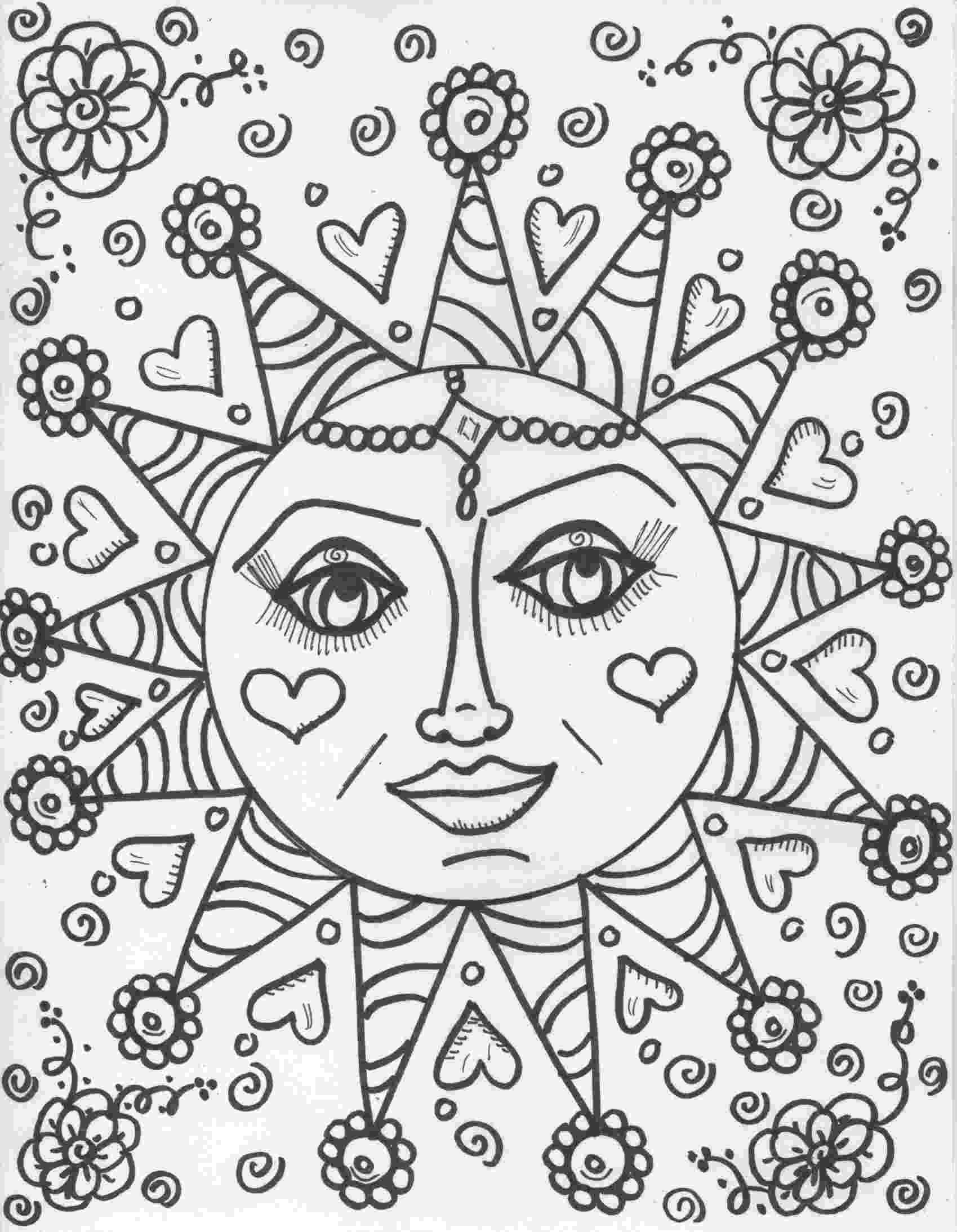 hippie coloring sheets hippie animals coloring book amazonca thaneeya mcardle sheets coloring hippie