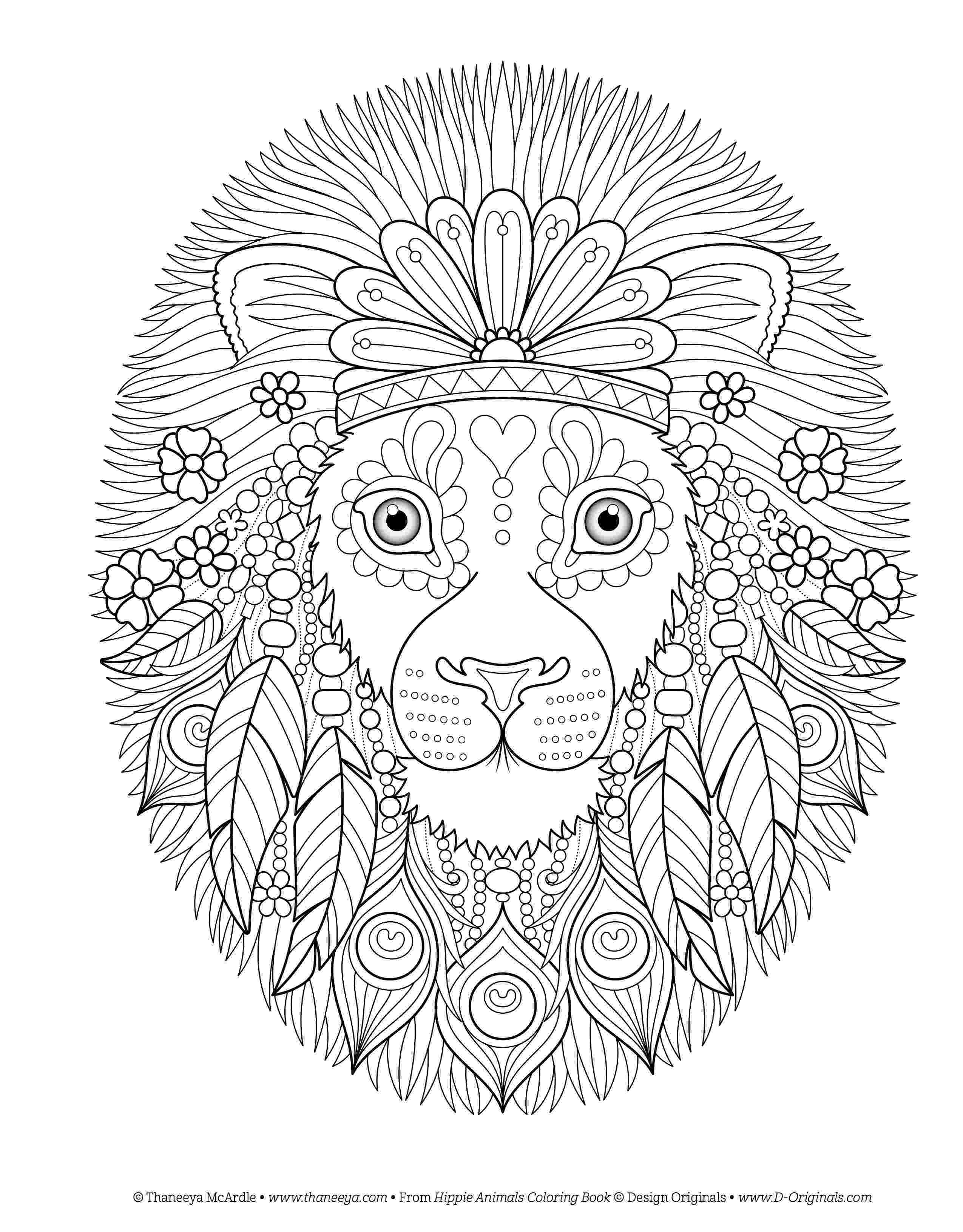 hippie coloring sheets hippie animals coloring book by thaneeya mcardle coloring hippie sheets