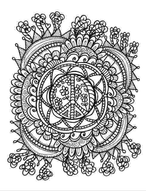 hippie coloring sheets hippie animals coloring book by thaneeya mcardle sheets coloring hippie