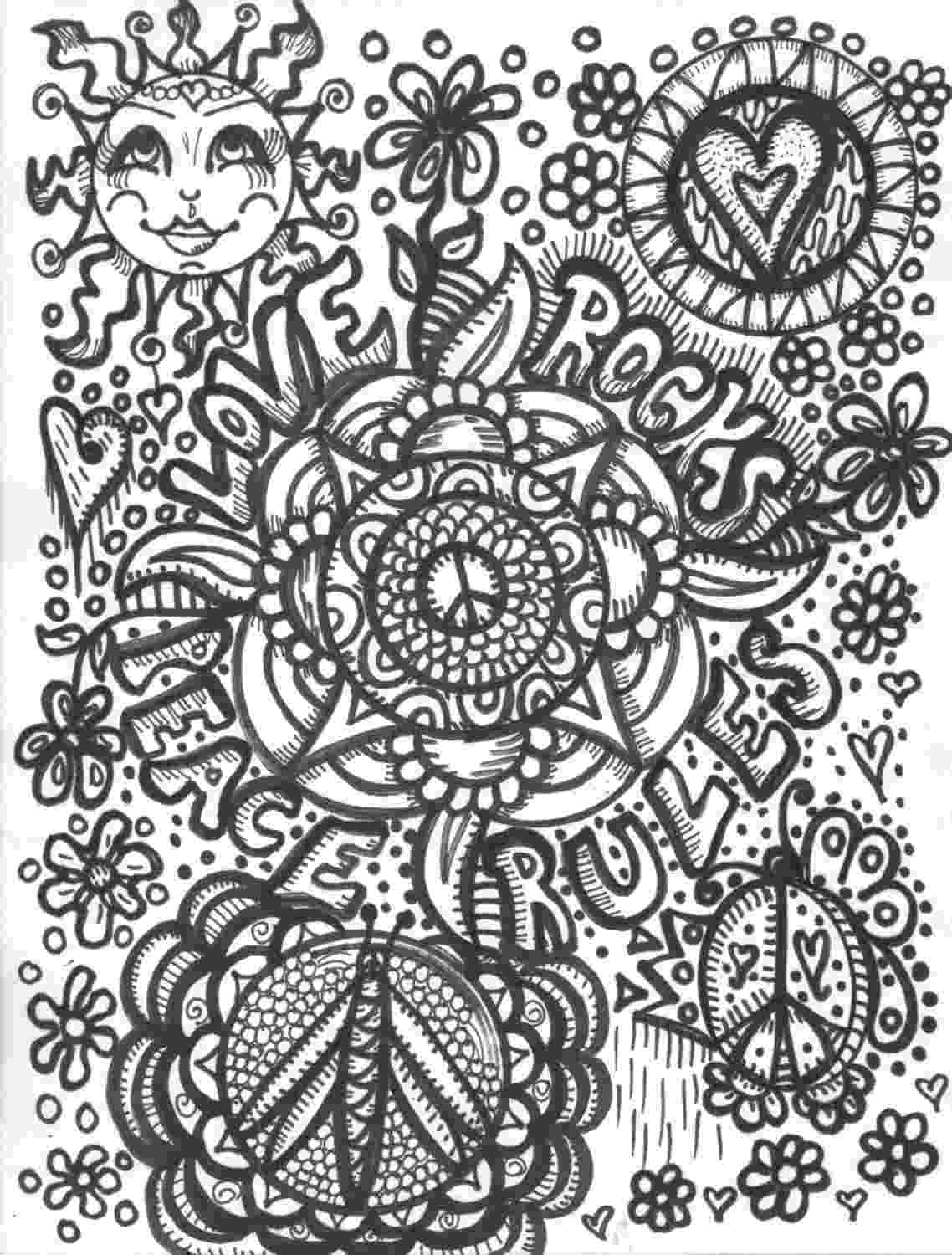 hippie coloring sheets hippie drawings sketch coloring page sheets hippie coloring