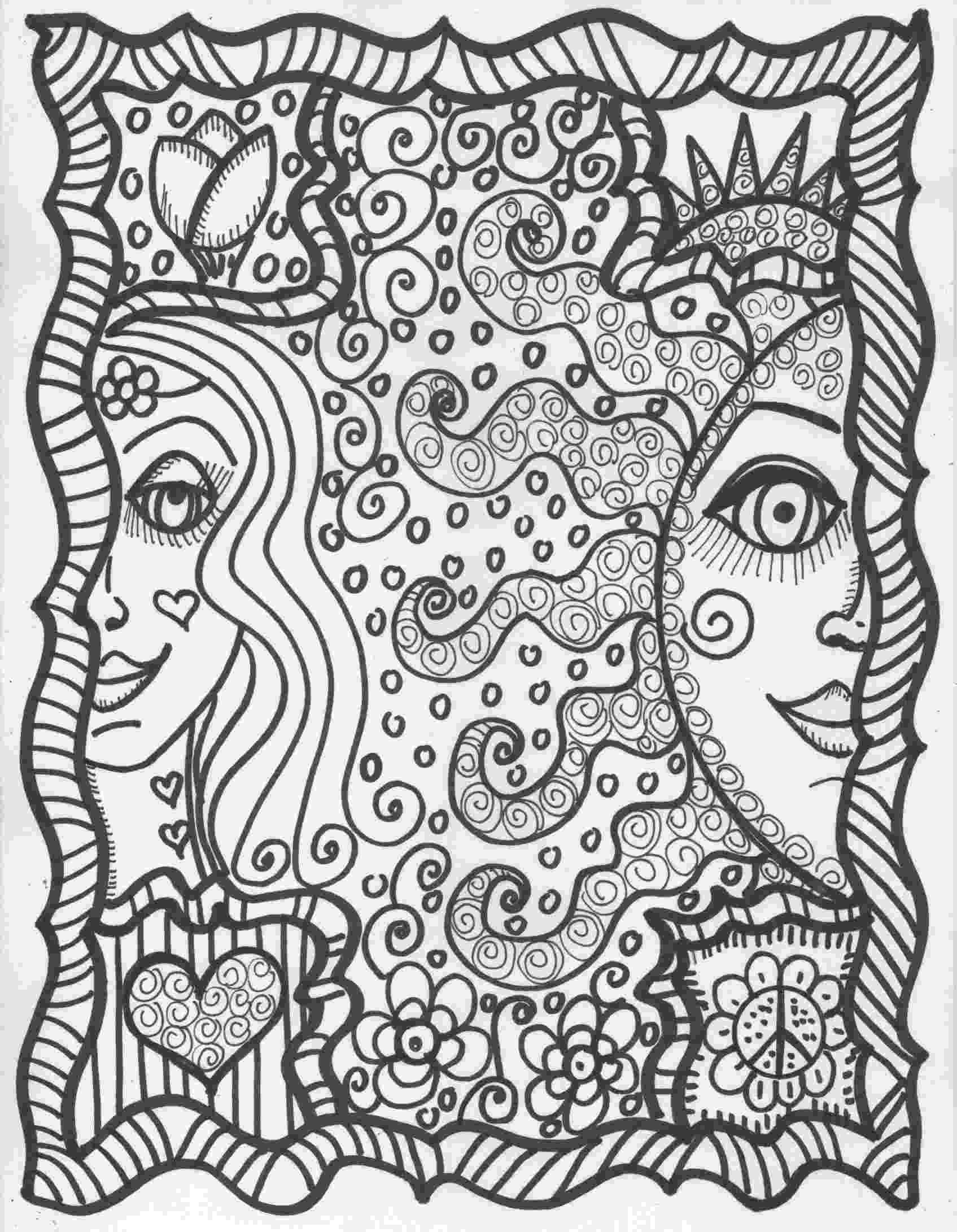 hippie coloring sheets peace love and tattoos coloring book hippie art sheets coloring hippie